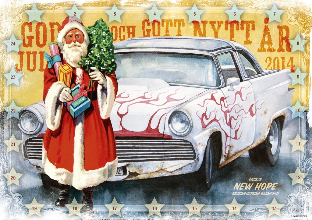 Julkalendern RBF 2014