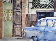 Ford azul, Habana