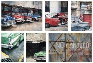 Cuba paintings by John Eyre